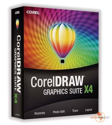 CorelDraw Graphic Suite X4 14.0.0.653 RUS + SP1