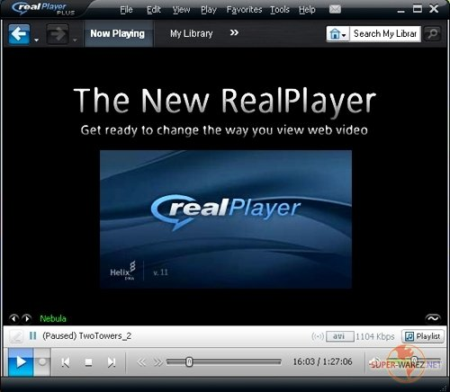 Portable RealPlayer 11.0.0.372 Gold Plus