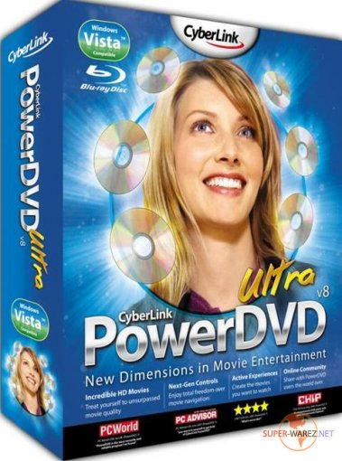 CyberLink PowerDVD Ultra 8.0.1830  RUS