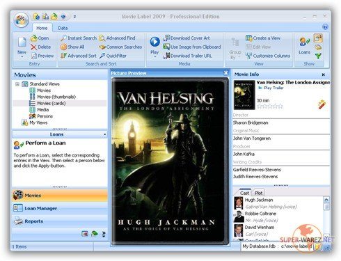 Movie Label 2009 Professional Edition 4.1.2.758