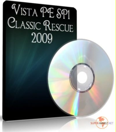 Vista PE SP1 Classic Rescue 2009 Multiboot CD