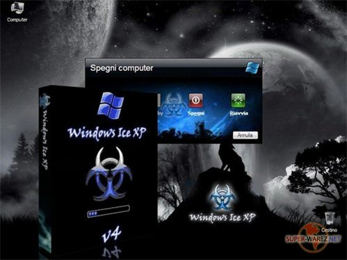 Windows Ice XP v4.1+Рус. (от 20.11.08)