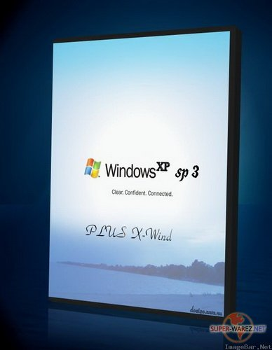 Windows XP Professional SP3 PLUS (X-Wind) by YikxX, RUS, VL, x86 [версия 1.9 DVD2009 Lite Edition]