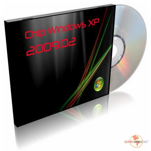 Chip Windows XP 2009.02 CD