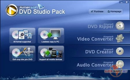 Aimersoft DVD Studio Pack 2.1.0.2