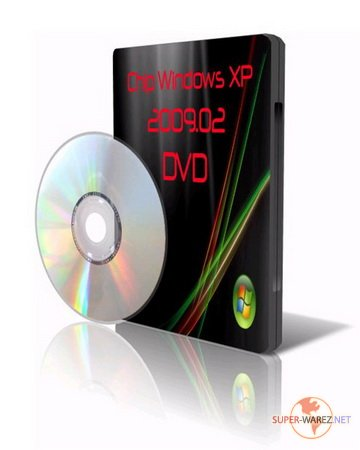 Chip Windows XP 2009.02 DVD