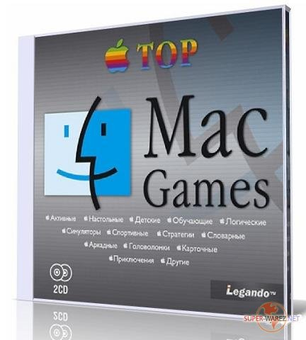 """Top Mac Games"" Сборник игр для MAC OS (2 CD)"
