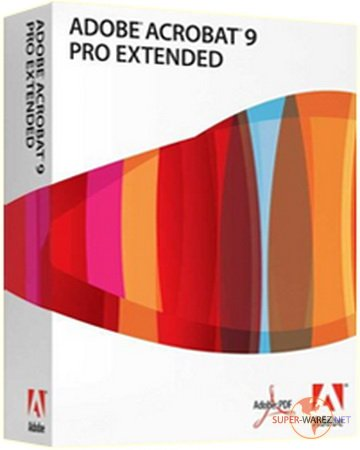 Adobe Acrobat Professional Extended 9.0.0.332 ISO (Multilang)