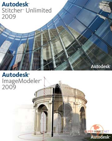 Autodesk - Stitcher Unlimited 2009 and ImageModeler 2009 Service Packes 1