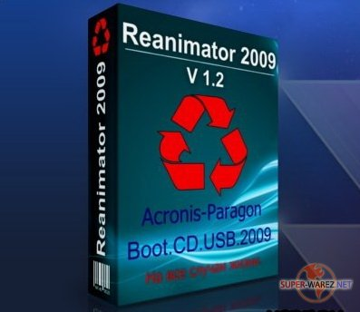 Acronis - Paragon Boot CD USB 2009 v.1.2
