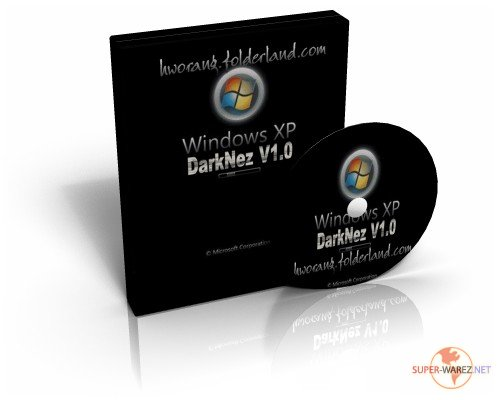 Windows DarkNez XP V1.0 [Repacked] [7-in-1 OS]