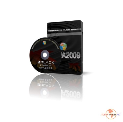 Windows XP SP3 SPAXP2009 Black Edition