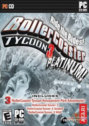 Roller Coaster Tycoon 3: Platinum Edition (2007/ENG)