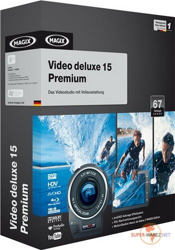 MAGIX Video Deluxe 15 Premium 2009 Ger/Rus