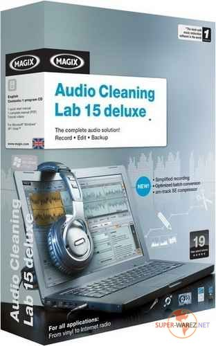 MAGIX Audio Cleaning Lab Deluxe 15 v10.0.3.0