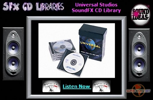The Universal Studios Sound Effects Library (2009)
