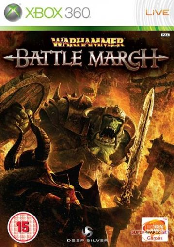 Warhammer: Battle March (2008/ENG/XBOX 360)