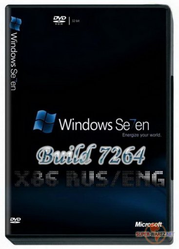 Windows 7 Build 7264 pre-RTM x86 EN/RU (Vasill)
