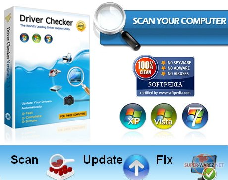 Driver Checker 2.7.4(32/64 bit) Full / Updated:2009.12.28