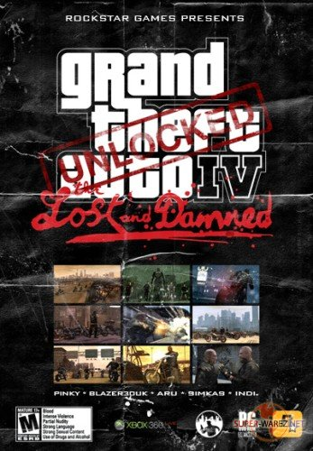 GTA IV MOD Lost and Damned 2009