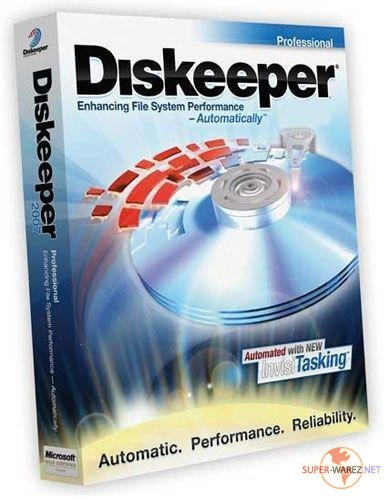 Diskeeper Pro Gold 2010 v14.0.910 Portable Rus