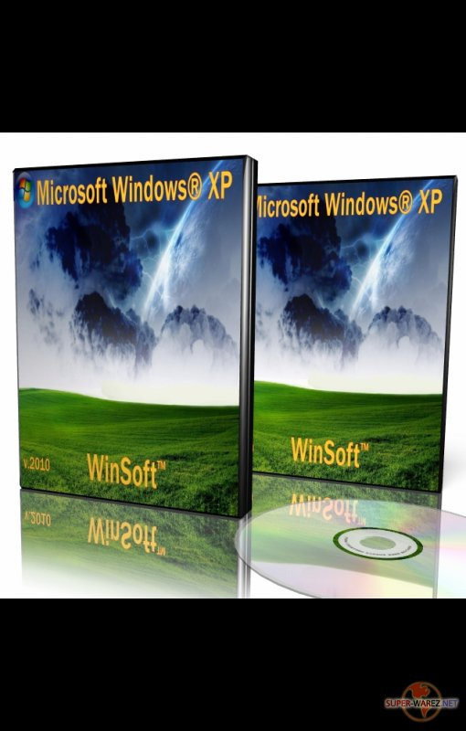 Windows® XP Sp3 WinSoft™ 2010 Anniversary Edition v1.10.10 ( Январь 2010 г.) + DriverPacks