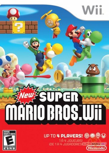 New Super Mario Bros. Wii (2009/RUS/PAL/Wii)