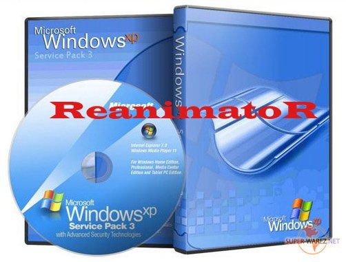 Windows XP SP3 Reanimator Russian (x86)