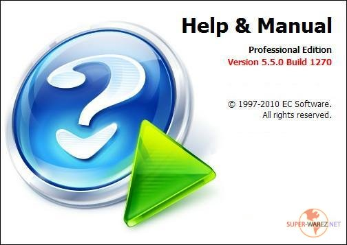 Help & Manual Professional 5.5.0 Build 1270