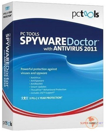 Spyware Doctor with AntiVirus 2011 v8.0.0.623