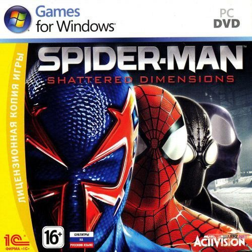 Spider-Man: Shattered Dimensions (2010/RUS/ENG/RePack)