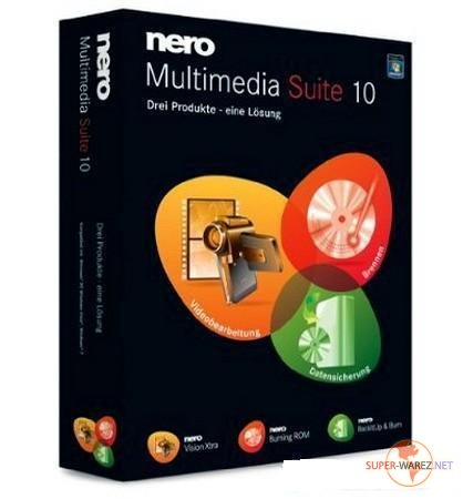 Nero Multimedia Suite 10.5.10500 Lite Ru-En v.4