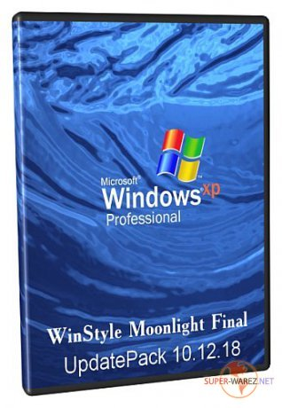 Windows XP Pro SP3 Rus VL + UpdatePack 10.12.18 + WinStyle Moonlight Final + AHCI MassStorage