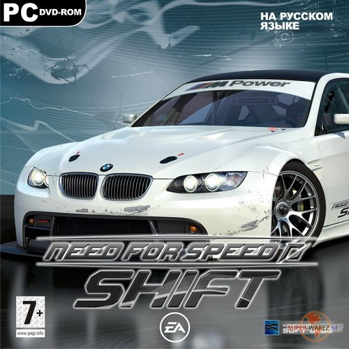 Need for Speed: Shift + DLC Ferrari and Exotic (2009/RUS/RePack by eviboss)