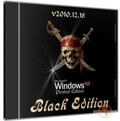 Windows XP Pro Black Edition v2010.12.18 (Eng+Rus/2010)