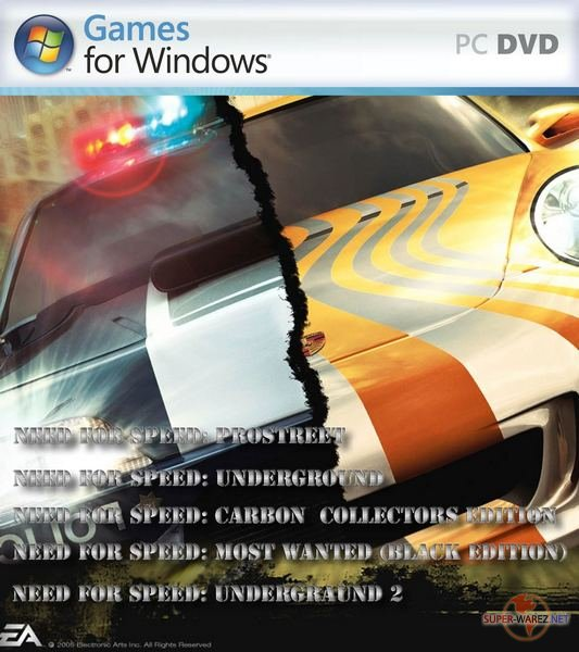 Need for speed 5 in 1(2003-2007/Rus)