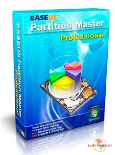 EASEUS Partition Master v 6.5.1 Professional Edition