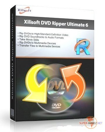 Xilisoft DVD Ripper Ultimate 6.0.15 build 1110 + RUS