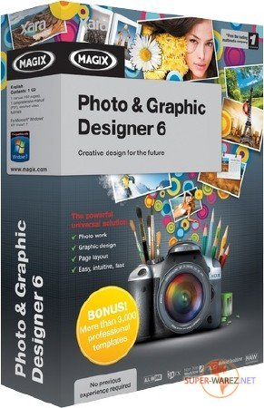 MAGIX Xara Photo & Graphic Designer 6.1.2.13361