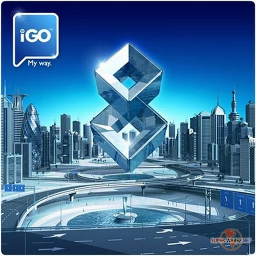 Карты для IGO 8 . 3 (Amigo, Primo, iGo My Way 2009) Россия, Европа, Азия, Африка, Австралия, Америка (WM, Android, Symbian (17.01.11)