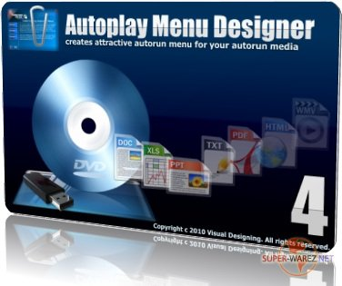 Autoplay Menu Designer 4.1 Pro Business License (2010) Rus