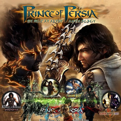 Prince of Persia. Full Anthology (1989-2010/RUS/ENG/RePack by R.G.Catalyst)