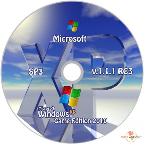 Windows XP SP3 Game Edition 2010 1.1.1 RC3 (2010/RUS)