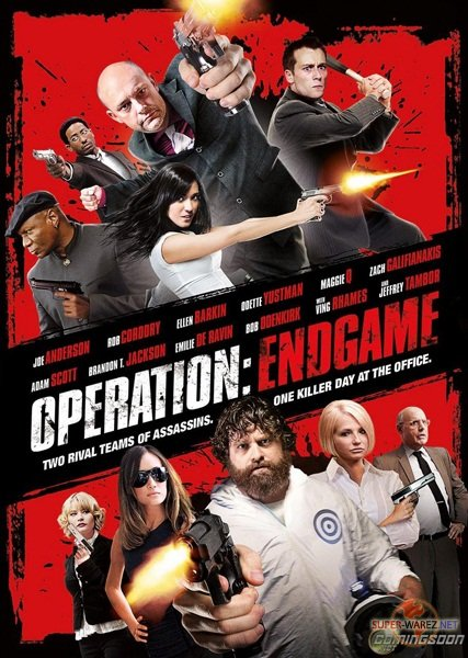 Адский эндшпиль / Operation: Endgame / Rogues Gallery (2010/BDRip AVC/HDRip/1400Mb/700Mb)
