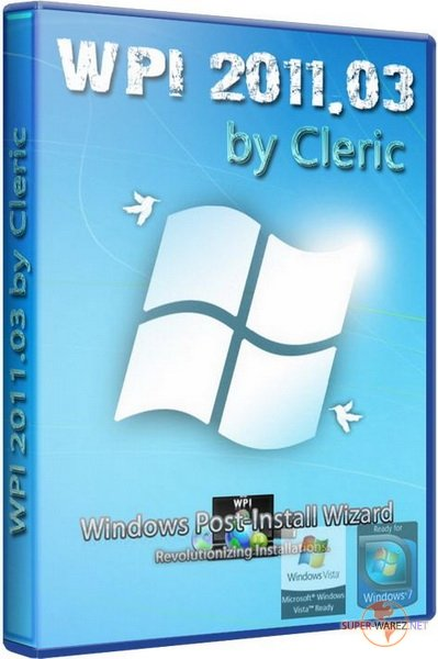 Windows Post Install 03.2011 by Cleric (RUS/ENG)
