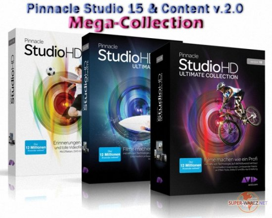 Pinnacle Studio 15 & Content v.2.0 Mega-Collection 70G (2011 ENG/RUS)