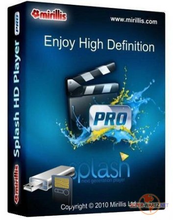 Mirillis Splash PRO HD Player v 1.7.0.0  Portable