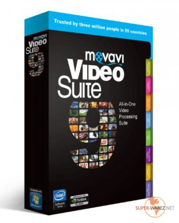 Movavi Video Suite v 9.4 Portable