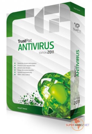 TrustPort Antivirus 2011 Portable v 11.0.0.4610