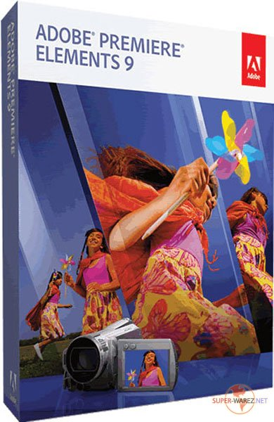 Adobe Premiere Elements v.9.0.1 DVD Update 1 + Additional Content( RUS/ENG/by M0nkrus/2011)